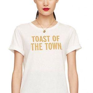 Toast of Town Kate Spade Shirt 🥂